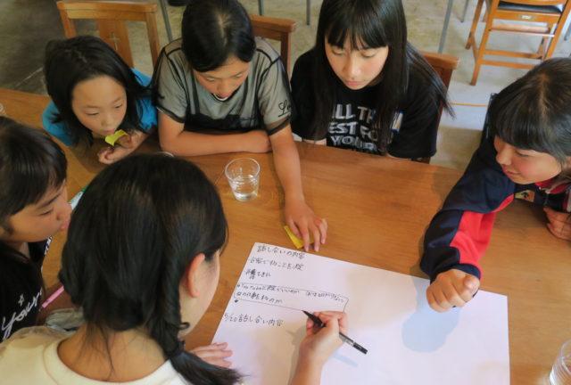山口県光市の発信キッチンにて子ども起業アカデミーを開催