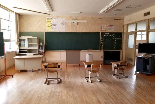 周防大島町立油田小学校、母校がまた役目を終えた。