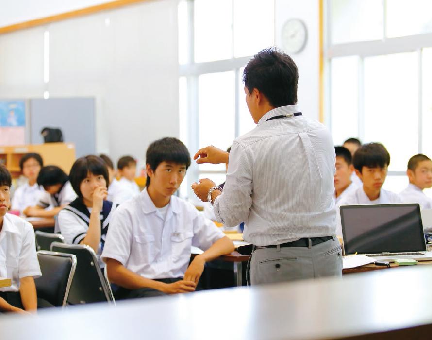 中学校での授業