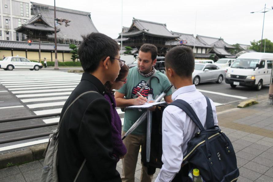 崇徳中学校アントレプレナーシップ(起業家精神)を育む探究型「京都研修」(修学旅行)